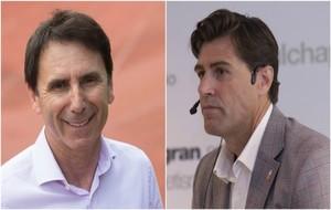 Isidoro Hornillos y Raúl Chapado, los dos candidatos