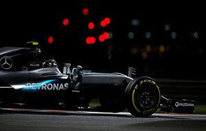 Nico Rosberg, bajo la noche de Abu Dabi