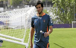 Marc Valiente, en su etapa de jugador en el Real Valladolid
