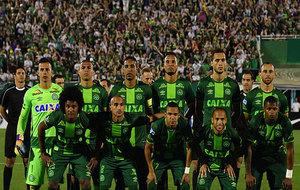 El once del Chapecoense que comenzó el decisivo partido ante San...