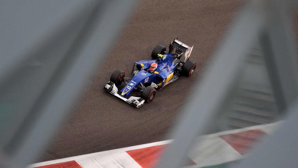 Felipe Nasr en el GP de Abu Dabi