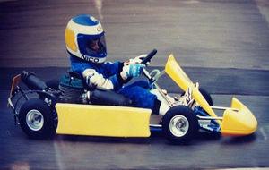 Empezó en el karting desde muy pequeño