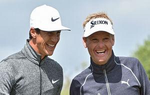 Soren Kjeldsen y Thorbjorn Olesen celebran su confortable liderato en...