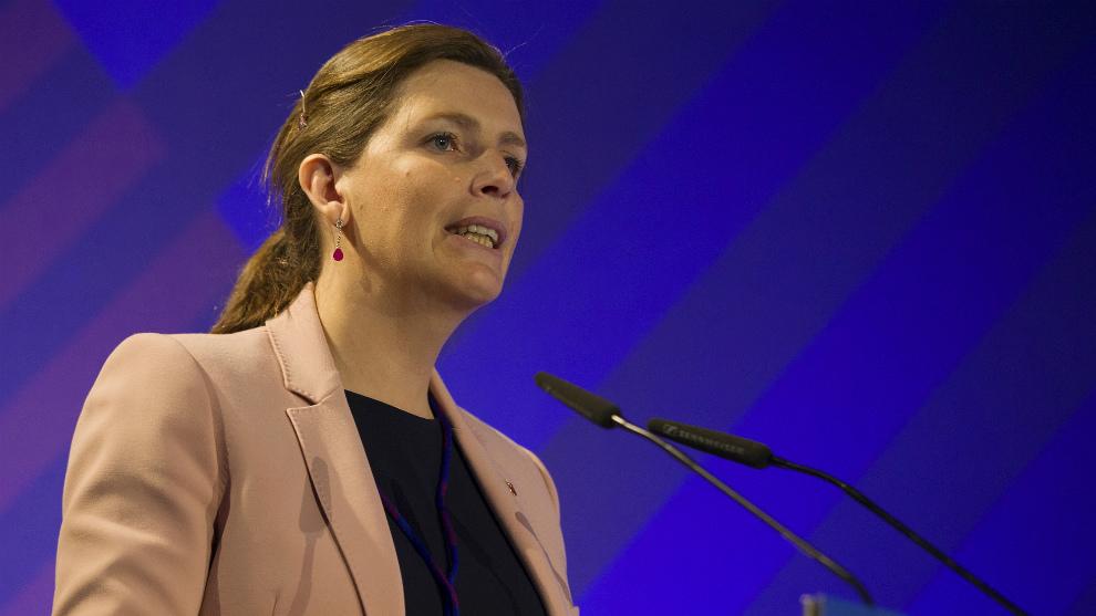 Susana Monje, en la última Asamblea