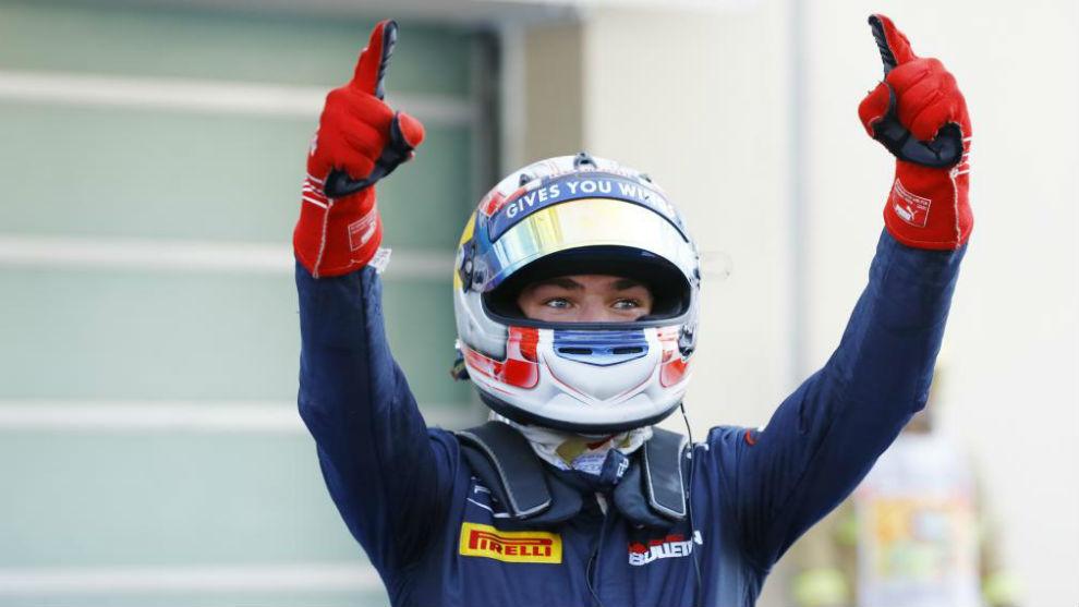 Pierre Gasly, campeón de GP2