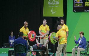Loida Zabala en los Juegos Paralímpicos de Río