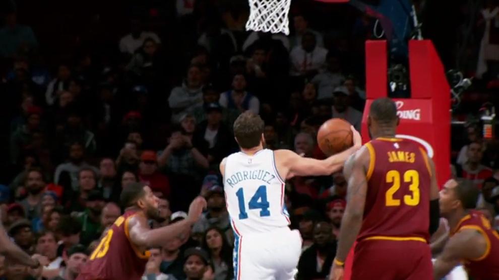 Top 10 NBA: El cara a cara entre Sergio Rodríguez y LeBron James, a ...