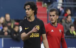 Tiago, en el partido ante Osasuna.