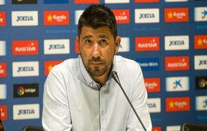 Ángel Gómez, en una rued de prensa.