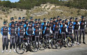 Las promesas del ciclismo de los equipos de la Fundación Contador.