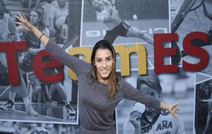 Alba Cabello posa para MARCA en el Consejo Superior de Deportes.