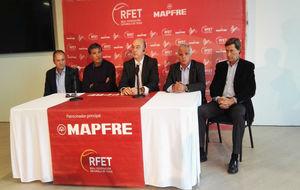 Toni Nadal, en la presentación del Campeonato de España