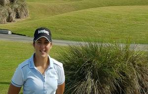 La golfista española María Parra.