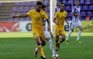 Iván González en un encuentro ante el Valladolid