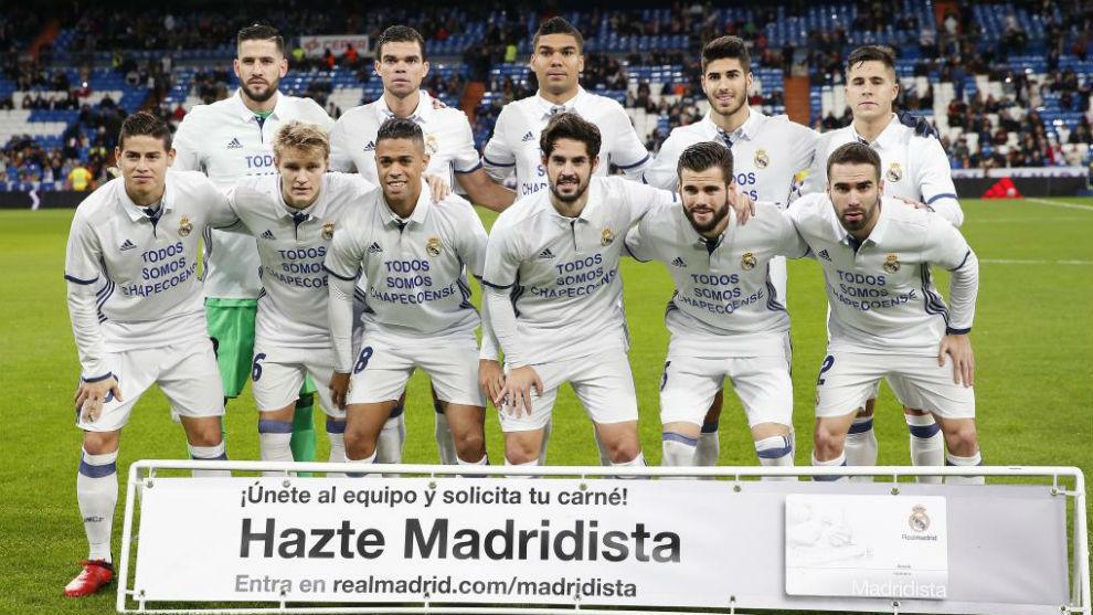 Real Madrid rindió homenaje al Chapecoense