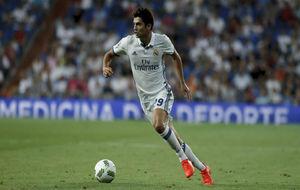 Enzo en el Trofeo Bernabéu