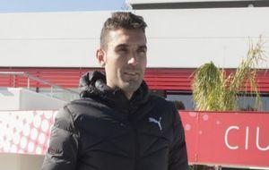 Barral vuelve a entrenar con el equipo tras el incidente con Cuenca.