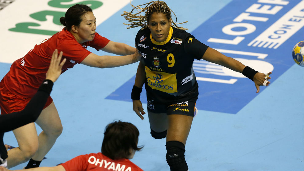 Marta Mangué, en el reciente Torneo Internacional preparatorio del...