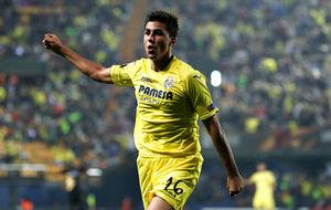 Rodrigo Hernández celebrando un gol durante un encuentro de Europa...