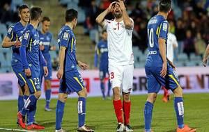 En marzo jugó el Sevilla en el Coliseum en Primera ... este viernes...