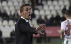Luis Carrión, durante el partido de Copa del miércoles ante el...