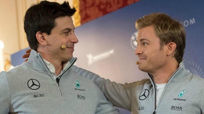 Wolff y Rosberg, hoy.