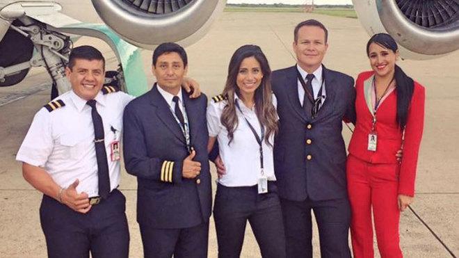 El Mensaje De Despedida De La Azafata Del Avión Del