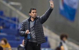 Asier Garitano durante el último partido frente al Espanyol.