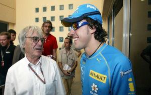 Bernie Ecclestone vería con buenos ojos la llegada de Alonso a...