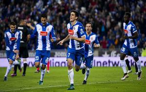 Gerard celebra su gol ante el Leganés.