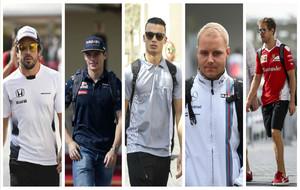 Los cinco candidatos al volante de Mercedes