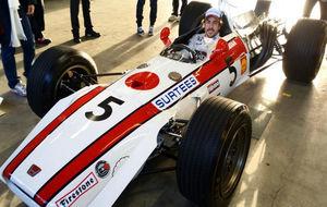 Alonso en uno de los modelos Honda que ha probado