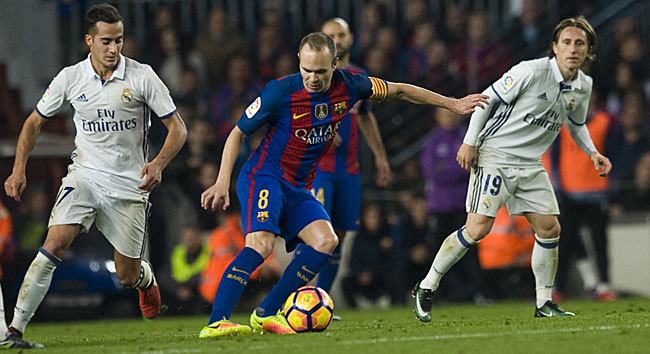 Barcelona vs Real Madrid  Corazón de líder ab1469e8074