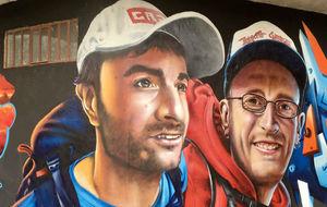 El graffitti de los hermanos Pou.