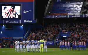 El recuerdo del Calderón al fallecido Cléber Santana