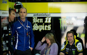 Massimo Meregalli, director del equipo Yamaha