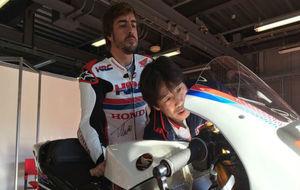 Fernando Alonso en Japón