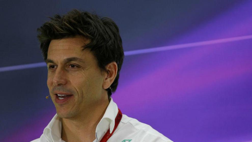 Toto Wolff, responsable de Mercedes.