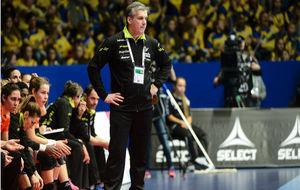 Jorge Dueñas, durante el partido frente a Suecia en Estocolmo.