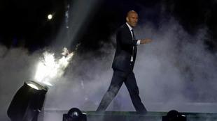 Zidane, tras la celebración de la Undécima