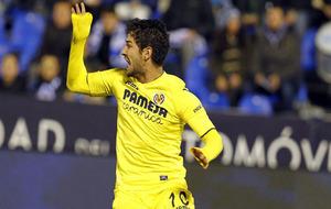 Pato se lamenta durante un partido del Villarreal de esta temporada