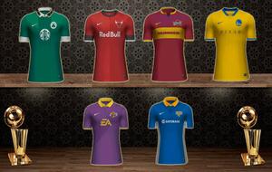 Camisetas de la NBA con forma de equipaciones de fútbol