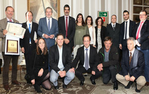 El Hipódromo de San Sebastián, premiado este lunes con la Placa de...