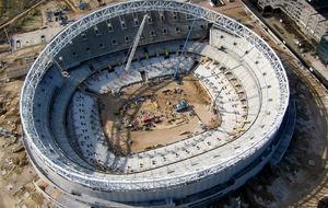 Panorámica del nuevo estadio del Atlético.