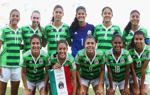La selección femenina de México, en el último Mundial sub 20.