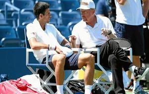 Djokovic dialoga con Becker