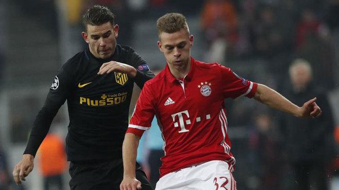 Resultado de imagen de lucas hernandez al Bayern