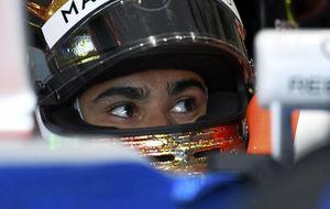 Wehrlein, en un GP de esta temporada con Manor.