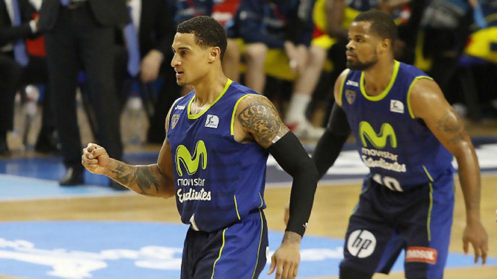 Jackson durante el último partido contra Andorra