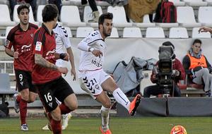 Fede Vico durante la temporada 2015/2016 con el Albacete.